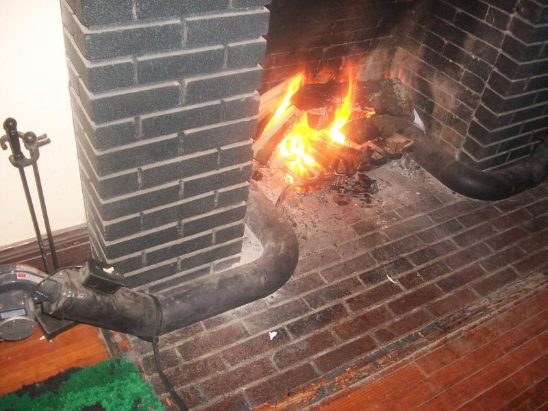 Magnificent Home Heating With Fireplace Heat Exchanger Survivalist Forum Download Free Architecture Designs Remcamadebymaigaardcom