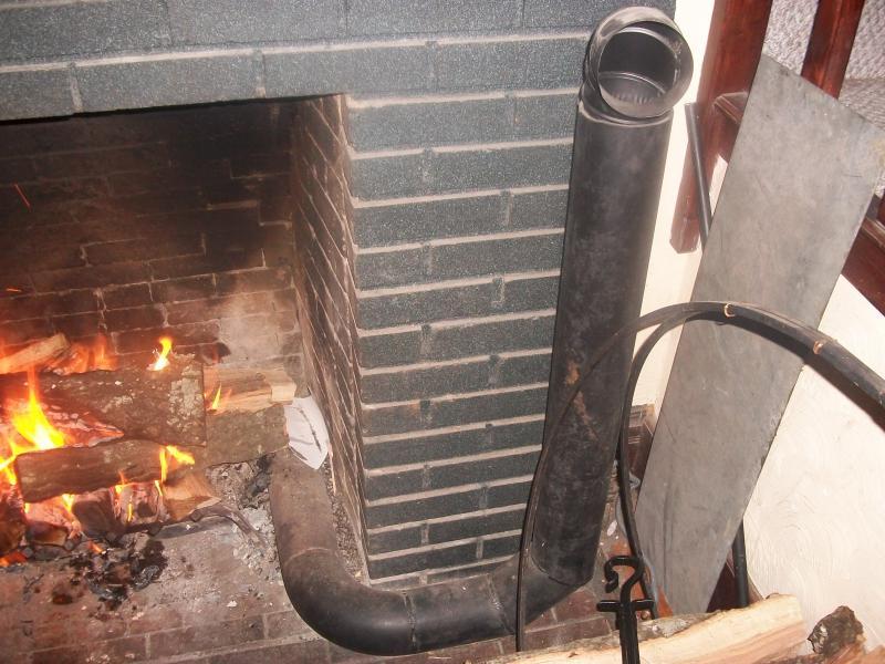 Home Heating With Fireplace Heat Exchanger Survivalist Forum