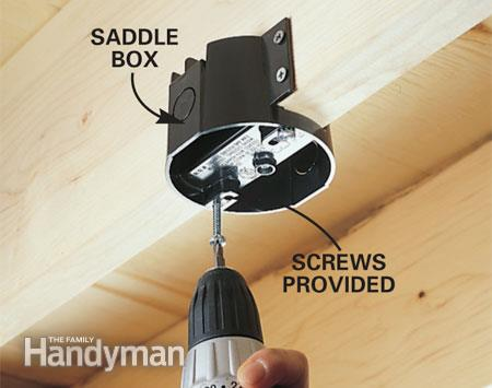 Can I Install A Ceiling Fan Bracket Straight Into The Wood Stud Survivalist Forum