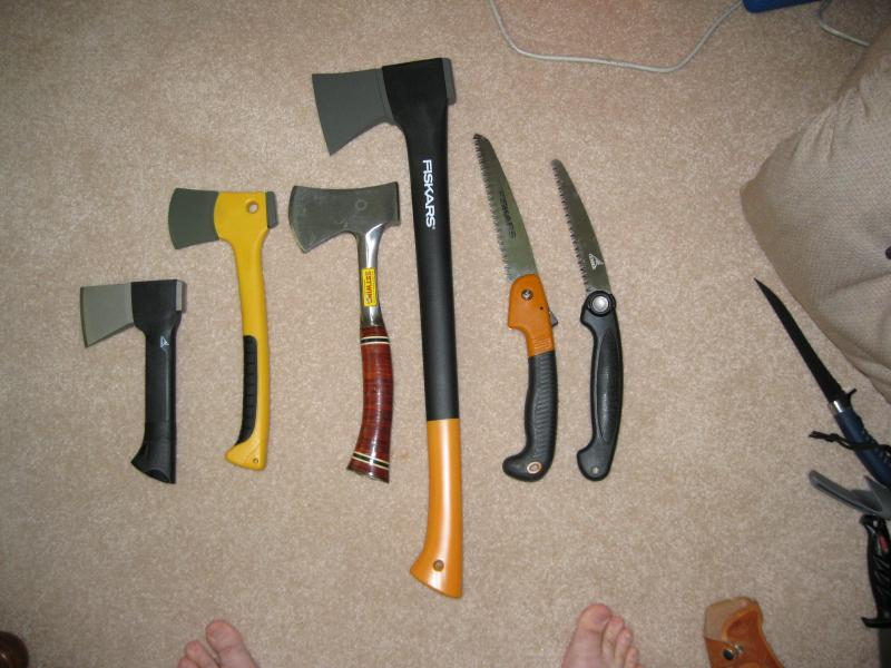 SHTF axes, is there one in your kit? - Survivalist Forum