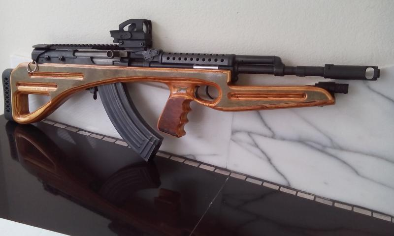 New here, I made a Bullpup out of my SKS - Survivalist Forum