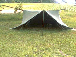 Shelter Half (pup tent) - Anyone use one? - Survivalist Forum