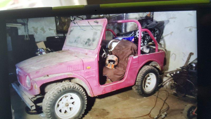 Mini BOV project   Suzuki LJ20 (3/4-scale