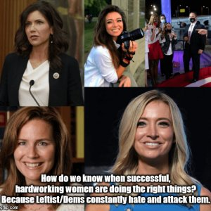 Successful, Hardworking Women on the Right